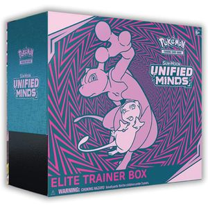 [Pokemon: Unified Minds Elite Trainer Box: Sun & Moon (Product Image)]