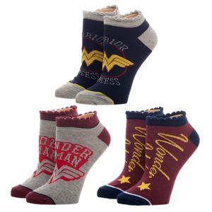 [DC: Wonder Woman: Socks (3 Pack) (Product Image)]