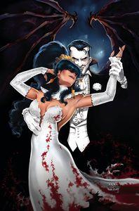 [Vampirella #25 (Cover ZJ White Virgin Variant) (Product Image)]