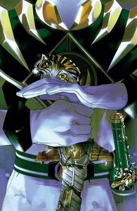 [Mighty Morphin Power Rangers #53 (Foil Montes Variant) (Product Image)]