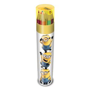 [Despicable Me: Colouring Pencil Tube: Stacked Minions (Product Image)]