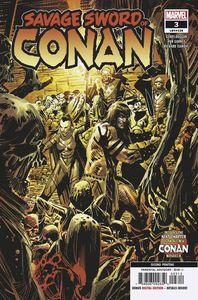 [Savage Sword Of Conan #3 (2nd Printing Garney Variant) (Product Image)]