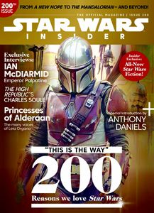 [Star Wars Insider #200 (Newsstand Edition) (Product Image)]
