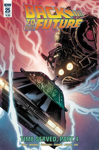 [Back To The Future #25 (Cover A Ferreira) (Product Image)]