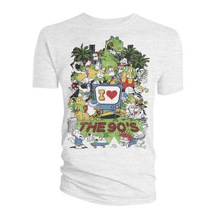 [Nickelodeon Animation: T-Shirt: I Love The 90s (Product Image)]