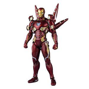 [Avengers: Endgame: SH Figuarts Action Figure: Iron Man MK50 Accessories (Product Image)]