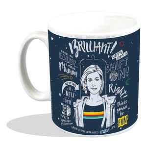 [Doctor Who: Mug: This Is Doctor Thirteen (Product Image)]