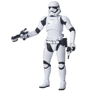 [Star Wars: The Force Awakens: Black Series: Wave 1 Action Figures: First Order Stormtrooper (6 Inch Version) (Product Image)]