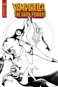[Vampirella: Dark Powers #1 (Lee Black & White Variant) (Product Image)]