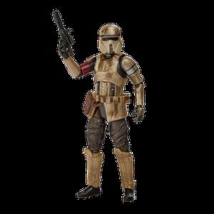 [Star Wars: The Mandalorian: Vintage Collection Action Figure: Shoretrooper (Carbonized) (Product Image)]