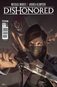 [Dishonored #1 (Cover C Frost Variant) (Product Image)]