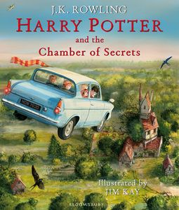 [Harry Potter & The Chamber Of Secrets (Illustrated Hardcover Edition) (Product Image)]