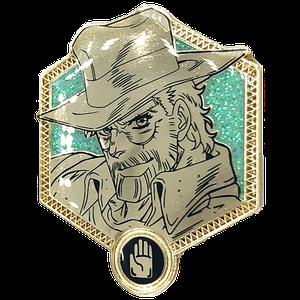 [JoJo's Bizarre Adventure: Golden Enamel Pin: Old Joseph (Product Image)]