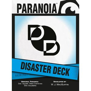 [Paranoia: Disaster Deck (Product Image)]