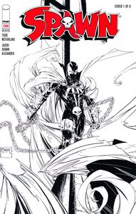 [Spawn #286 (Cover A Mcfarlane B&W) (Product Image)]