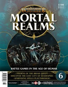 [Warhammer: Age Of Sigmar: Mortal Realms #6 (Product Image)]