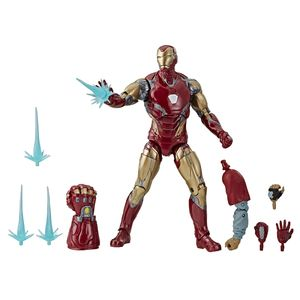 [Avengers: Endgame: Marvel Legends Action Figure: Iron Man Mark LXXXV (Product Image)]