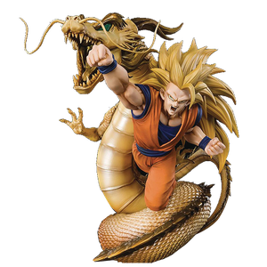 [Dragon Ball Z: Dragon Fist Explosion: Figuarts Zero Statue: Extra Battle Super Saiyan 3 Son Goku (Product Image)]