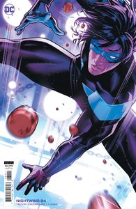 [Nightwing #84 (Cover B Jamal Campbell Card Stock Variant (Fear State)) (Product Image)]