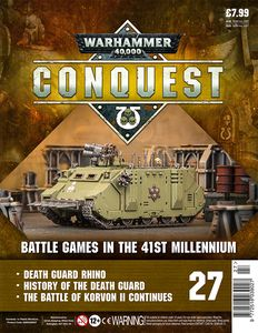 [Warhammer 40K: Conquest: Figurine Collection #27 (Product Image)]