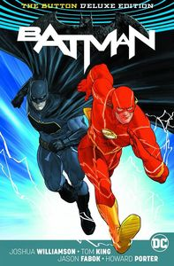 [Batman/The Flash: The Button (Lenticular Deluxe International Edition Hardcover) (Product Image)]