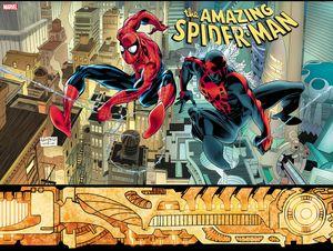 [Amazing Spider-Man #33 (Leonardi Hidden Gem Variant 2099) (Product Image)]