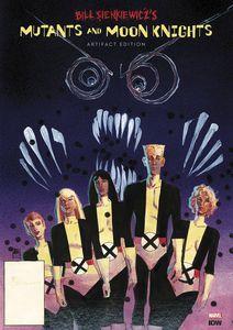 [Bill Sienkiewicz: Mutants & Moon Knights: Artifact Edition (Hardcover) (Product Image)]