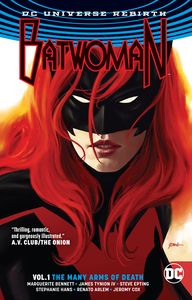 [Batwoman: Volume 1: The Many Arms Of Death (Rebirth) (Product Image)]