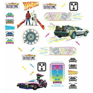 [Back To The Future: Wall Decals (Product Image)]