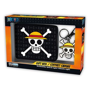 [One Piece: Wallet & Keyring: Skull Luffy (Product Image)]