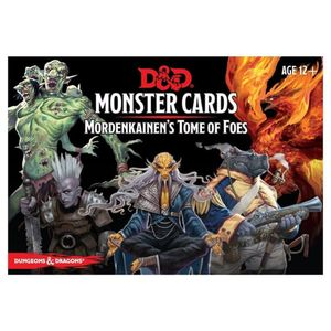 [Dungeons & Dragons: Monster Cards: Mordenkainen's Tome Of Foes (Product Image)]