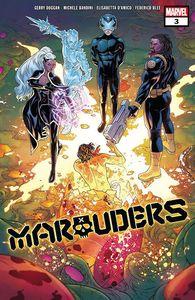[Marauders #3 DX (Product Image)]