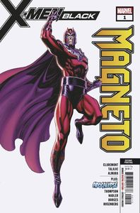 [X-Men: Black Magneto #1 (2nd Printing JSC Variant) (Product Image)]