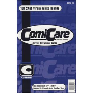 [Comicare: Backing Boards: Current Size (100 Pack) (Product Image)]