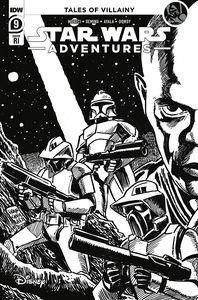 [Star Wars Adventures (2021) #9 (Francavilla Black & White Variant) (Product Image)]