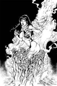 [Vengeance Of Vampirella #7 (Castro B&W Virgin Variant) (Product Image)]