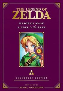 [The Legend Of Zelda: Volume 3: Majora's Mask & A Link To The Past (Legendary Edition) (Product Image)]