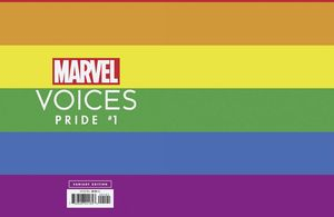[Marvels Voices: Pride #1 (Rainbow Variant) (Product Image)]
