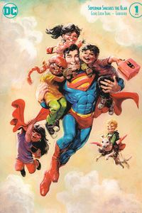 [Superman Smashes The Klan #1 (Variant Edition) (Product Image)]