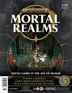 [Warhammer: Age Of Sigmar: Mortal Realms #5 (Product Image)]