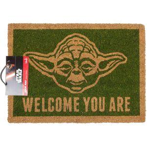 [Star Wars: Door Mat: Yoda (Product Image)]