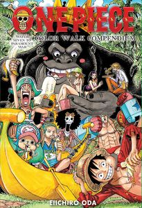 [One Piece: Colour Walk Compendium: Water Seven To Paramount War (Hardcover) (Product Image)]