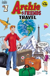 [The cover for Archie & Friends: Travel #1]