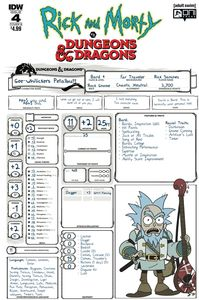 [Rick & Morty Vs Dungeons & Dragons #4 (Cover B Little) (Product Image)]