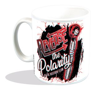 [Doctor Who: Mug: Reverse The Polarity - In 3D! (Product Image)]