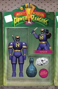 [Mighty Morphin Power Rangers #23 (Unlockable Action Figure Variant) (Product Image)]