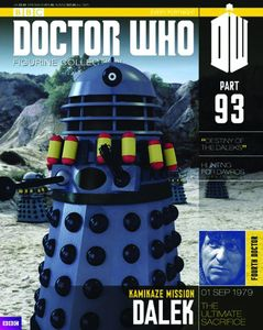 [Doctor Who: Figurine Collection Magazine #93 Dalek Destiny Bombs (Product Image)]