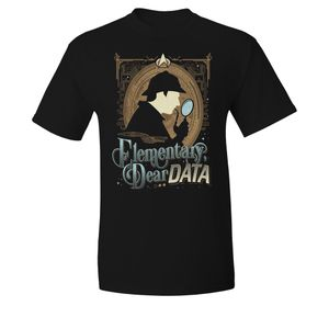 [Star Trek: The Next Gerneration: T-Shirt: Elementary Dear Data (Product Image)]