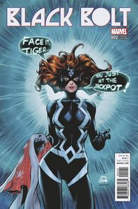 [Black Bolt #2 (Stegman Mary Jane Variant) (Product Image)]