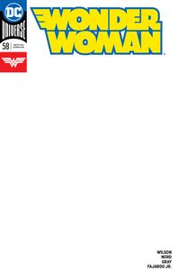 [Wonder Woman #58 (Blank Variant Edition) (Product Image)]